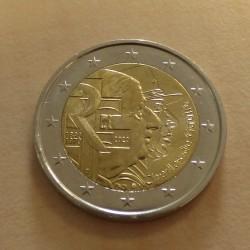 France 2 euros De Gaulle...