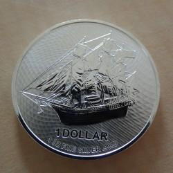 Cook Islands 1$ 2021 Bounty...
