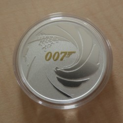 Tuvalu 1$ 2021 James Bond...