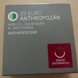 Austria 25 euros 2018...