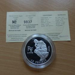 France 10 francs 1996 Rodin...