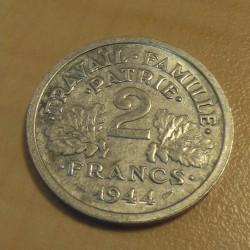 France 2 francs 1944B VF++...