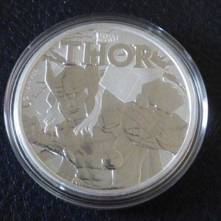 Tuvalu 1$ 2018 MARVEL Thor silver 99.99% 1 oz