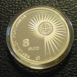 Portugal 8 euros 2004 PROOF...