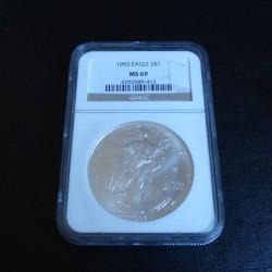 US 1$ Silver Eagle 1993...