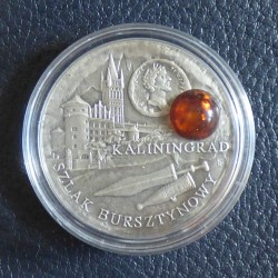 Niue 1$ 2008 Amber Route...