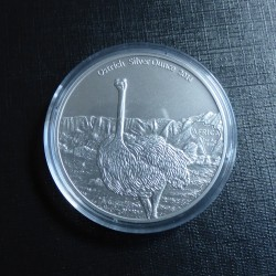 Gabon 1000 CFA Ostrich 2014...