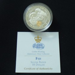 "Fiji 10$ 1997 ""Golden..."