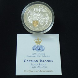 Cayman Islands 2$ 1997...