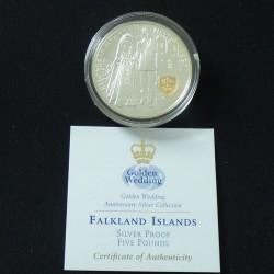 Falkland Islands 5$ 1997...