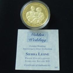 Sierra Leone 10$ 1997...