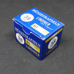 Box of 10 Capsules 38 mm...