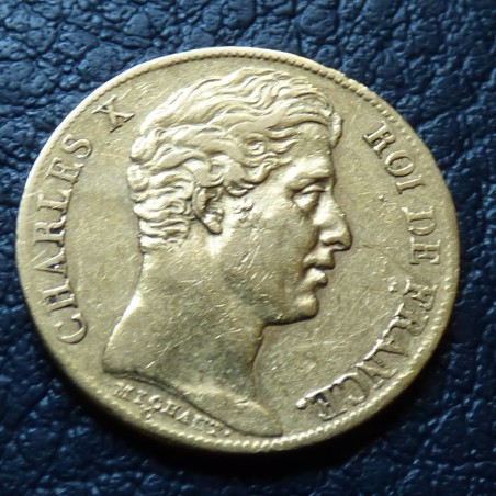 France 20 francs 1828A gold 90% (6.45 g) quality VF