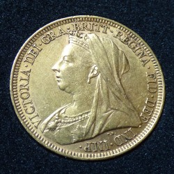 UK sovereign 1896 gold...