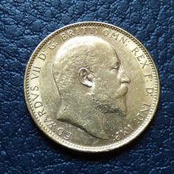 UK sovereign 1907 gold...