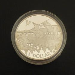 Cook Islands 1$ 2002...