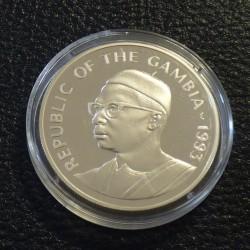 "Gambia 20 Dalasis 1993 ""40..."