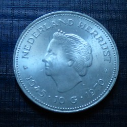 Netherlands 10 Gulden 1970...