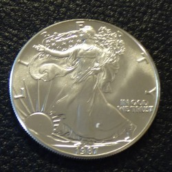 US 1$ Silver Eagle 1987 1oz...