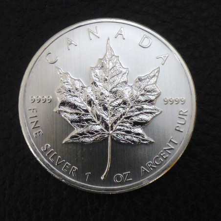 Canada 5$ Maple Leaf various years silver 99.9% 1 oz