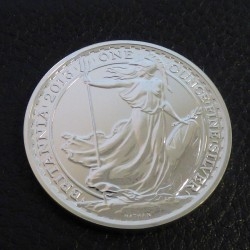 UK 2£ Britannia 2013 silver...