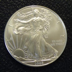 US 1$ Silver Eagle 2008 1oz...