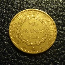 France 20 francs Various...