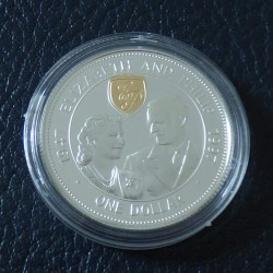 "Barbados 1$ 1997 ""Golden..."