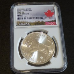 "Canada 5$ Predator ""Cougar""..."