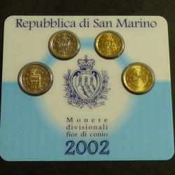 San Marino serie 2 euros/1...