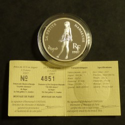 France 10 francs 1997 Degas...
