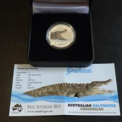 Australia 1$ Crocodile...