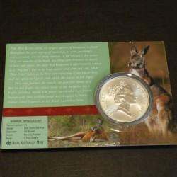 Australia 1$ Kangaroo RAM...