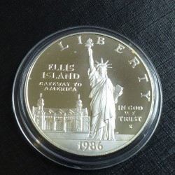 US 1$ Liberty 1986 Ellis...