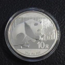 China 10 yuans Panda 2016...