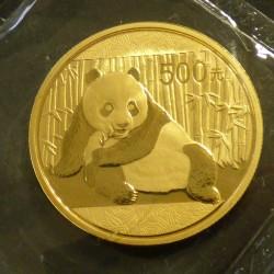 China 500 yuans Panda 2015...