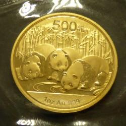 China 500 yuans Panda 2013...