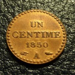 France 1 cent 1850A Dupré...