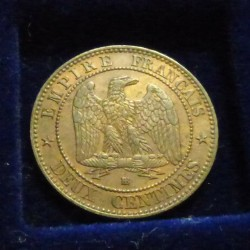 France 2 cents 1855 BB...