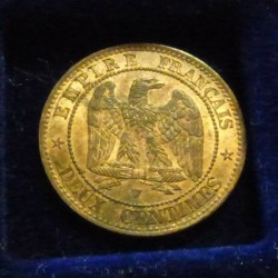 France 2 cents 1853 W...
