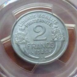 France 2 Francs 1945B...