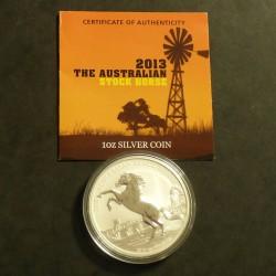 Australia 1$ Stock Horse...