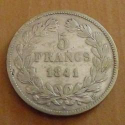 France 5 Francs 1841BB...
