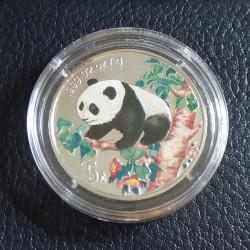 China 5 yuans Panda 1998...
