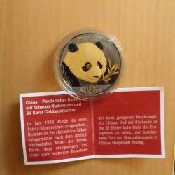 China 10 yuans Panda 2018...