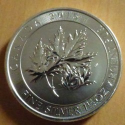 Canada 8$ Multi Leaf 2015...