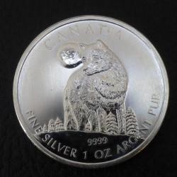 "Canada 5$ Wildlife ""Wolf""..."