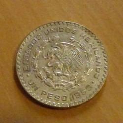 Mexico 1 peso 1959 Jose...