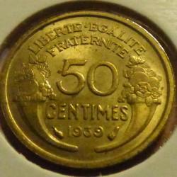France 50 cents 1939 Morlon...