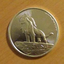 Niue 2$ King Lion 2019...